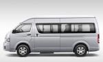Toyota Hiace - вид сбоку