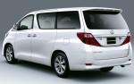 Toyota Alphard - вид сбоку