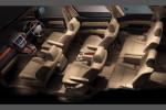 Toyota Alphard - 7 мест в салоне, интерьер