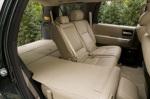 Складывание сидений Toyota Sequoia